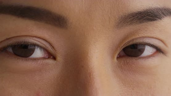Thumbnail for Close up of Japanese woman's eyes