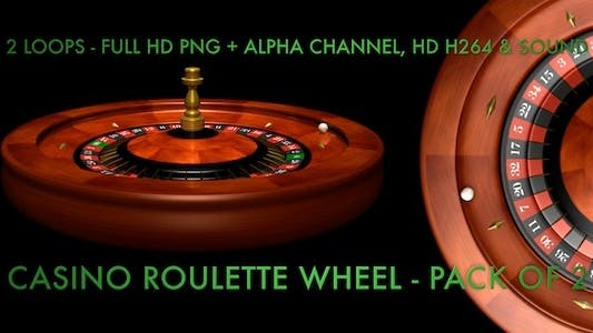 Thumbnail for Casino Roulette Wheel - Pack Of 2 Loops