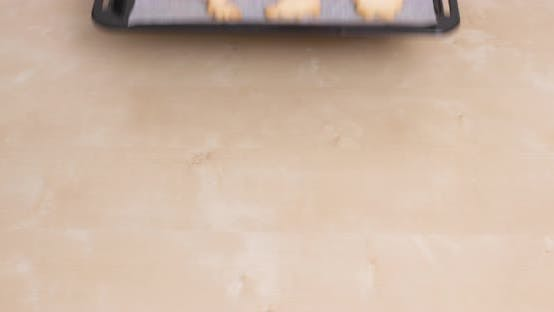 Thumbnail for Homemade Cookies on Metal Tray