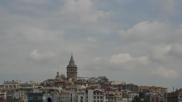 Cover Image for Time lapse of the Galata tower