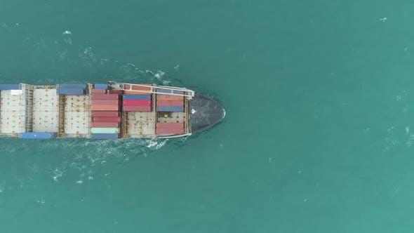 Thumbnail for Cargo Ship in the Sea