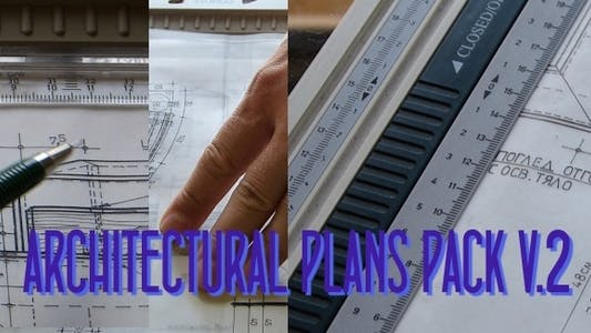 Thumbnail for Architectural Plans Pack V2