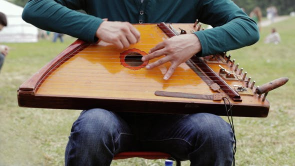 Thumbnail for Folk Musician Playing Gusli