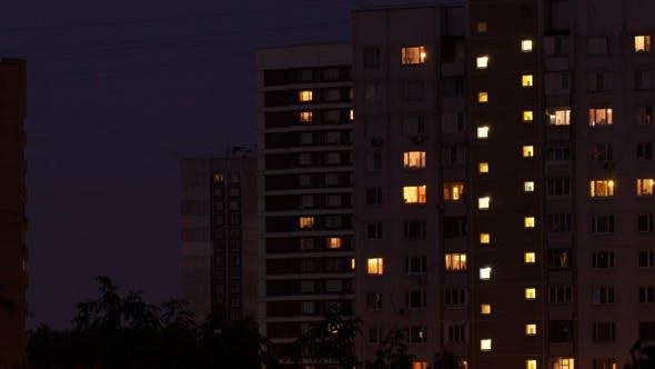 Thumbnail for Buildings At Night 1