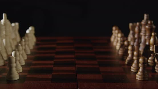Thumbnail for Wood Chess Pieces On Chessboard 11b