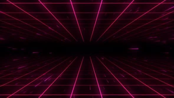 Thumbnail for 80s Retro Background 07 4K