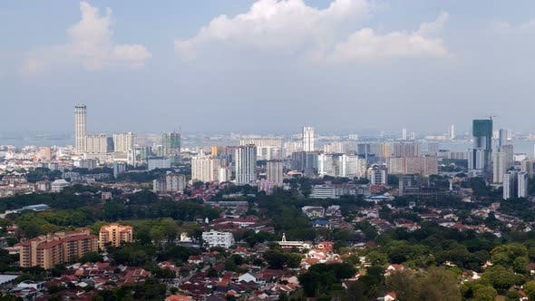 Thumbnail for Penang Aerial Cityscape, Malaysia