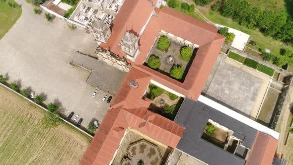 Thumbnail for Ancient Monastery Top View