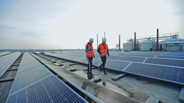 Maintenance in solar power plant