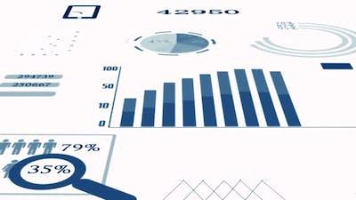 Infographics Accounting Customer Data Statistics