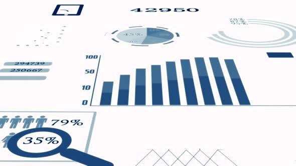 Thumbnail for Infographics Accounting Customer Data Statistics