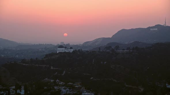 Thumbnail for Hollywood Sign, Mount Lee, Griffith Park, Hollywood Hills, Santa Monica Mountains, Hollywood, Los