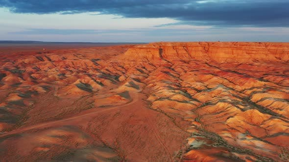 Thumbnail for Textural Colorful Striped Canyons Tsagaan Suvarga