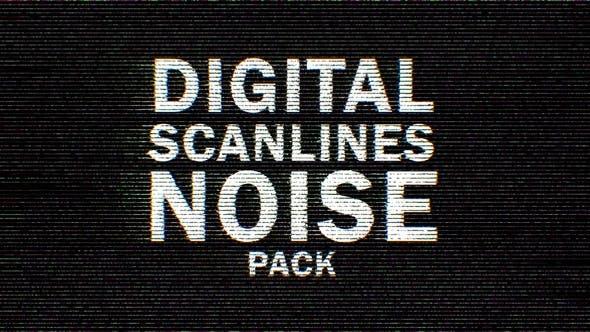 Thumbnail for Color Digital Scanlines Noise 9 Pack