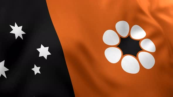 Thumbnail for Northern Territory Flag - 4K