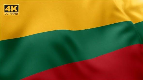 Thumbnail for Lithuania Flag - 4K