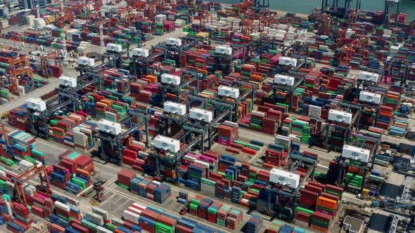 Thumbnail for Kwai Chung Cargo Terminal in Hong Kong city