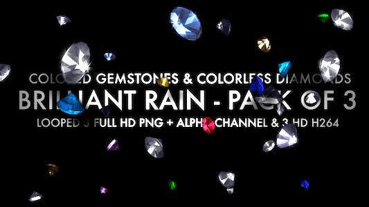 Thumbnail for Brilliant Rain Loop (3-Pack)