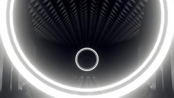 Building Industrial Sci Fi Hallway Tunnel 03 HD