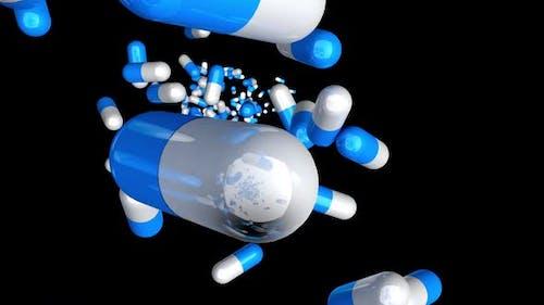 Medication supply animation