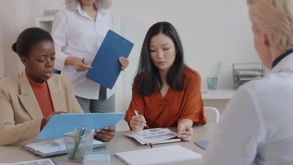 Diverse Women on Lesson