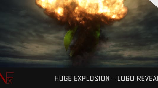 Thumbnail for Huge Explosion - Logo Reveal
