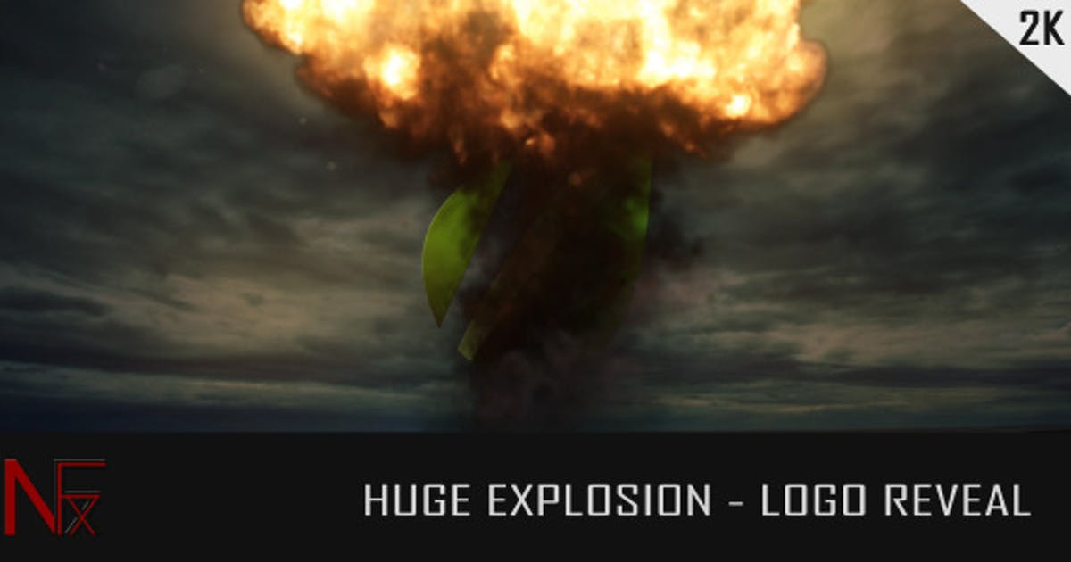 Download Huge Explosion - Logo Reveal by NeuronFX