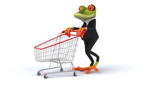Thumbnail for Fun frog shopping