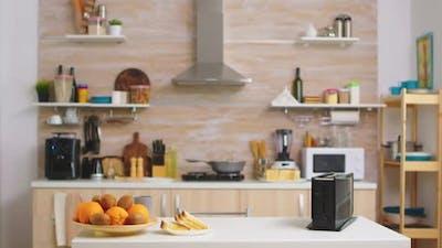 Bread Toaster in Kitchen