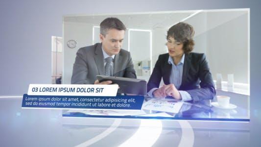 Thumbnail for Presentación Corporativa limpia