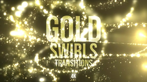Thumbnail for Gold Swirls Transitions