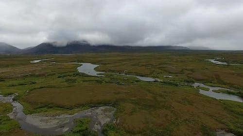 Tundra In Arctic Circle
