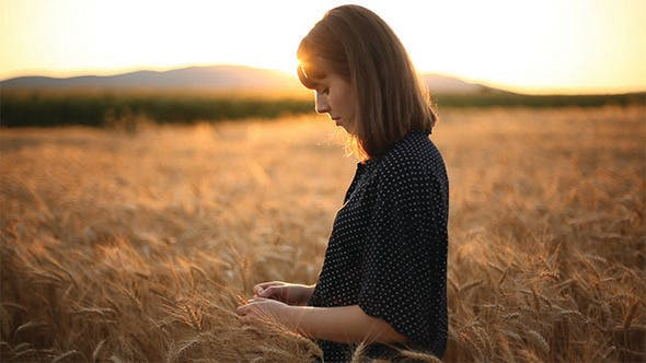 Cover Image for Girl On The Wheat Field