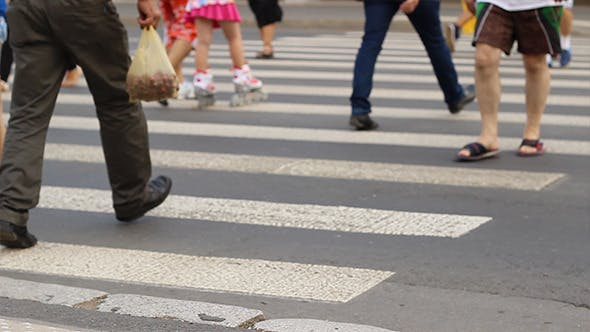 Thumbnail for People Crossing the Street