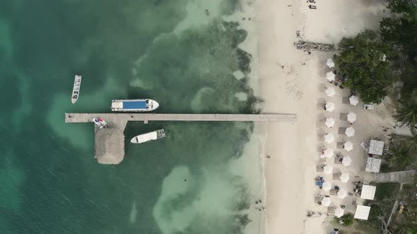 Aerial view of of ponto.