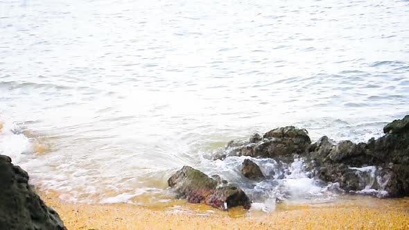Thumbnail for Tropical Beach White Sand Shore in Thailand.