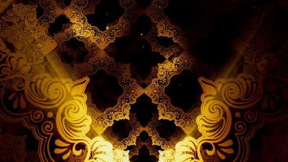 Thumbnail for Vintage Islamic Pattern 01 4K