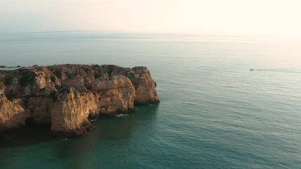 Thumbnail for Aerial View of Ponta Da Piedade in Algarve in Portugal