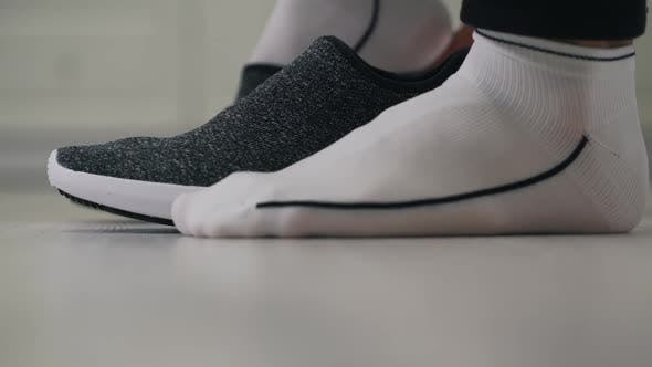 Thumbnail for Man Shoes Sneakers Close Up