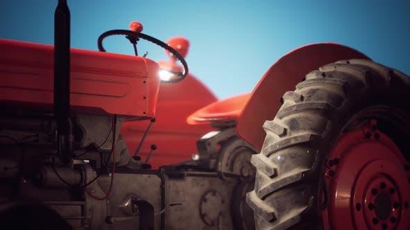 Thumbnail for Old Vintage Retro Traktor