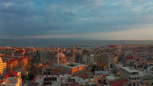 Istanbul at Sunset Turkey