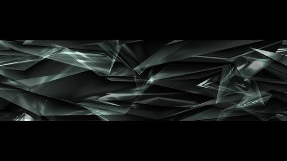 Thumbnail for White Polygonal Background Ultra Wide