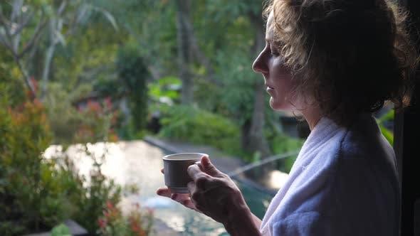 Morning on a Balinese Villa