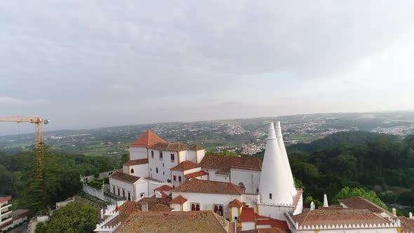 Thumbnail for Panorama of Sintra Palace, Portugal