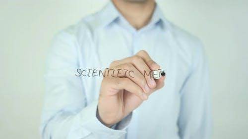Scientific Method, Writing On Screen
