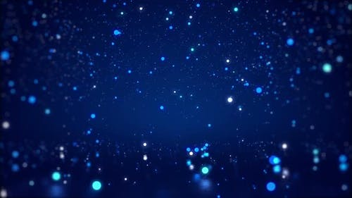 Light Particle Background