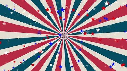 Patriotic Stars And Stripes Hd