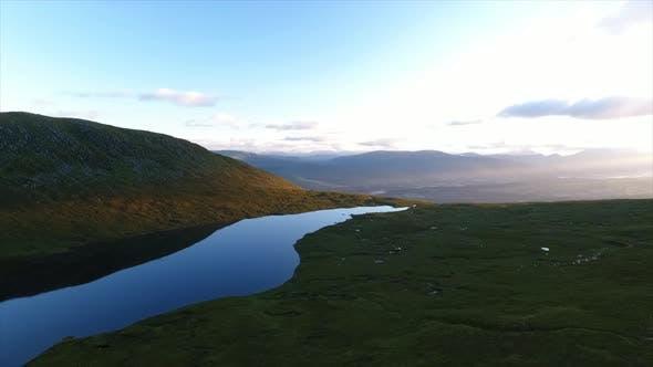 Sunrise over Ben Nevis Lake
