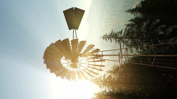 Thumbnail for Typical Old Windmill Turbine