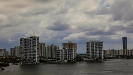 Thumbnail for Cloudy Miami Bay Afternoon 05b